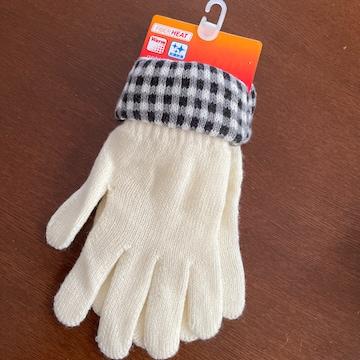 新品 手袋 FIBER HEAT warm  抗菌防臭