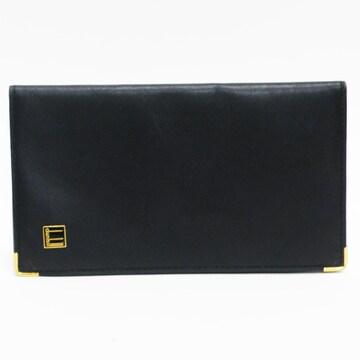 dunhillダンヒル 二つ折り長財布 札入れ黒メンズ 良品 正規品