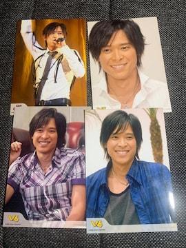 V6・坂本昌行・公式写真4枚セット