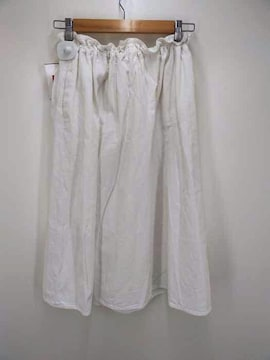 ゴーシュ(ゴーシュ)リネンキャンバスイージースカートスカート