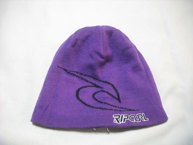 mb249 男 RIP CURL リップカール リバーシブル ニット帽 < 男性ファッションの
