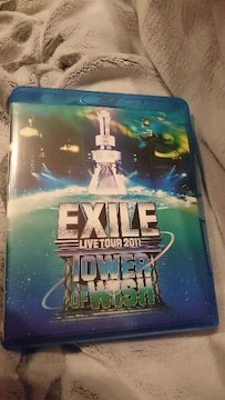 """EXILE「LIVE TOUR 2011""""TOWER OF WISH""""」ブルーレイ2枚組"""
