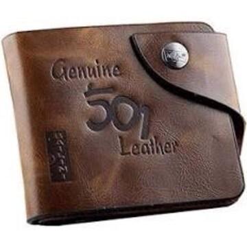 風合い 豊かな メンズ ウォレット 二つ折り財布 カードホルダー