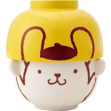 【ポムポムプリン】可愛い電子レンジ・食洗機対応♪茶碗・汁椀セット