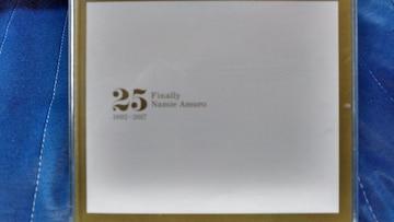安室奈美恵 Finally 25 1992-2017 3枚組ベスト