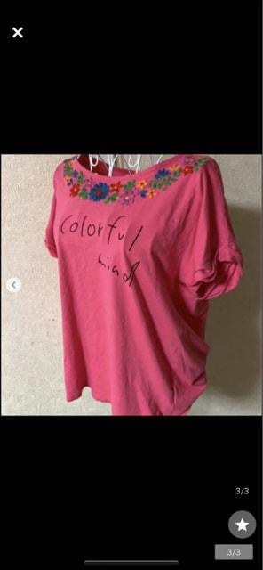 チチカカ★ピンク☆カジュアル★Tシャツ☆サイズM < ブランドの