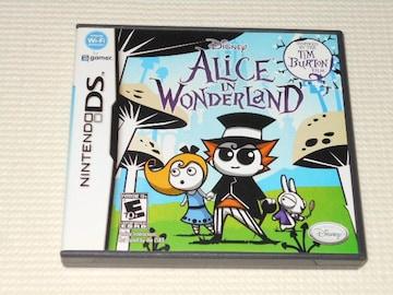 DS★DISNEY ALICE IN WONDERLAND 海外版(国内本体動作可能)