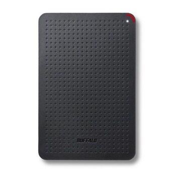 BUFFALO 小型ポータブルSSD 120GB ブラック SSD-PL120U3-BK/N(a)