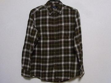 即決!USA古着●FADED GLORYチェックデザインネルシャツ!レア