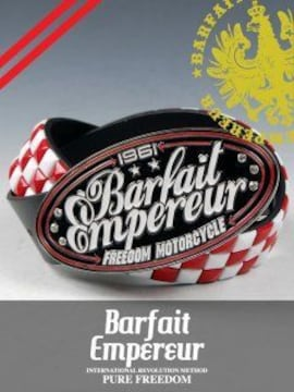 BarfaitEmpereur(バルフェアンプルール)バックルベルト赤