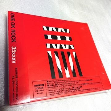 ONE OK ROCK◆CD◆初回限定DVD付◆新品未開封◆35xxxv◆送料無料