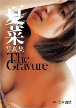 ■本『夏菜写真集 The Gravure』美人女優 巨乳