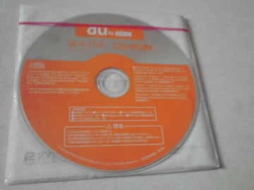 新品未開封  W43SA CD-ROM+ブックレット