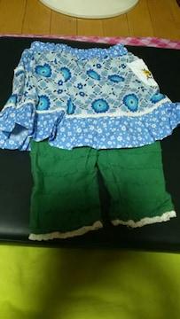★花柄★スカート★パンツ付き★80size