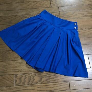 ユニクロ×ビューティフルピープル ブルー青 キュロットパンツ