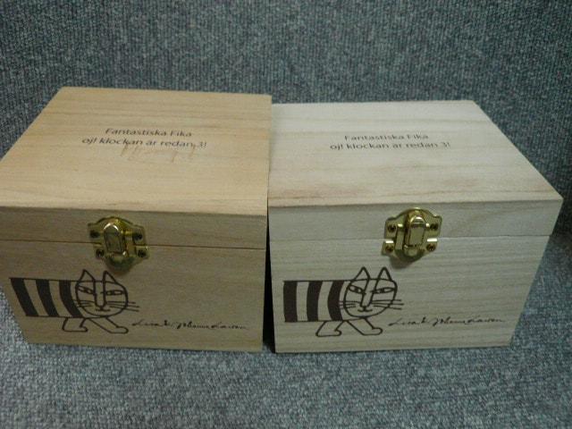 リサ・ラーソン「木箱入りマグカップセット」24 < インテリア/ライフの
