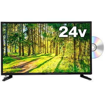 DVD内蔵TV一人暮らしや2台目に。サブモニターにも最適な24V型