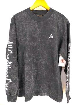 NIKE ACG(ナイキエーシージー)LS Tee Eearth ロングスリーブ カットソークルーネックTシャツ