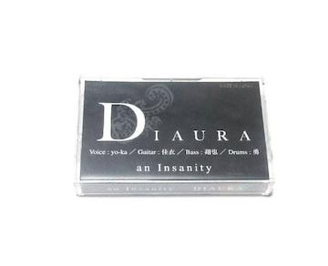 DIAURA/1stデモテープ/an Insanity/完全限定生産99本/レア/希少