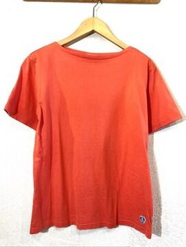 ORCIVAL■バスクシャツ■Tシャツ■ワンポイント■オーシバル■柿