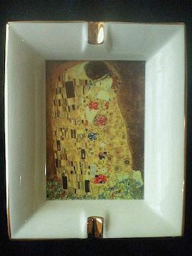クリムト 灰皿 CAMUS FRANCE リモージュ磁器 22K GOLD