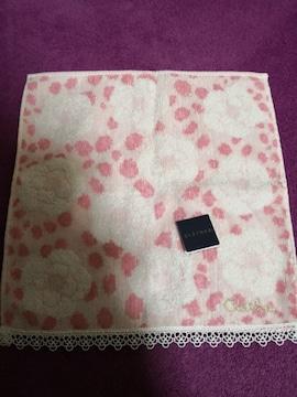 レア 新品 CLATHAS  クレイサス タオル ハンカチ ピンク