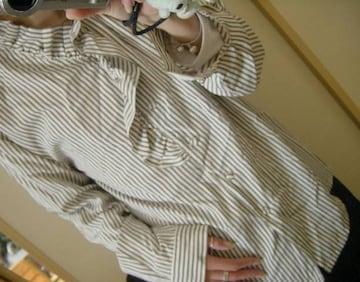 【大人系】ストライプシャツ【7R〜】