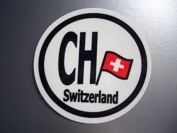 ○スイスビークルID国識別国旗ステッカー○シール即買!