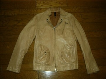 Glambグラムレザーライダース系ジャケット2羊革ラム