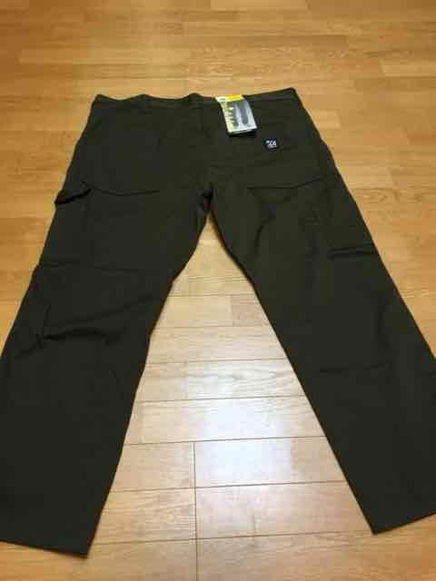 LA Mart   EDWIN   ペインターパンツ   オリーブ深緑  sizW46   120cm < 男性ファッションの