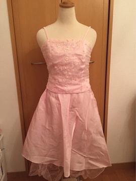 ピンク キャミドレス