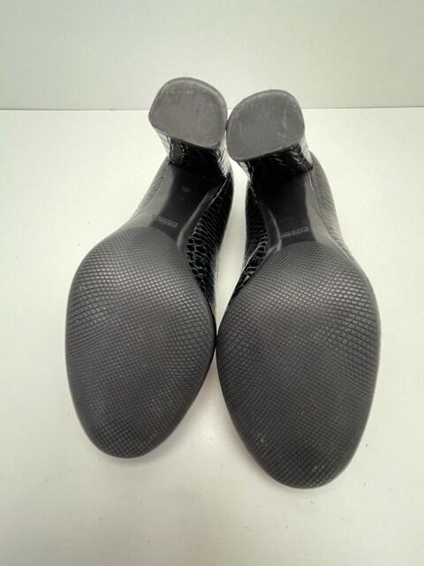 X121 プラダ パンプス ハイヒール 靴 クロコダイル  36 1/2 < ブランドの