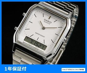 新品 ■カシオ アナデジ 腕時計 AQ230A-7★即買い
