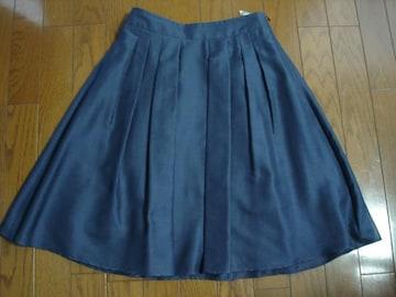 ナチュラルビューティー 大人かわいいシアー柄フレアースカート