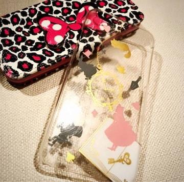 iPhone6.6s☆Minnie手帳カバー*アリスケース☆2点セット