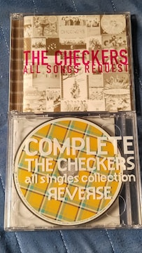 THE CHECKERS(チェッカーズ. 藤井フミヤ他) 2枚組ベスト2枚セット 難あり