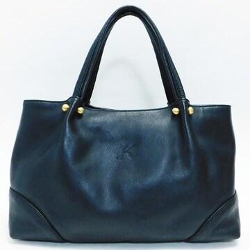 美品Kitamuraキタムラ ハンドバッグ トート 黒 良品 正規品
