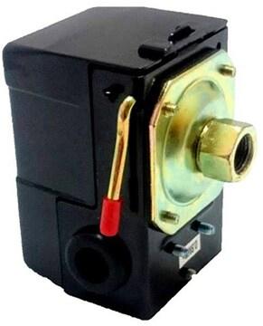 黒 エアーコンプレッサー 圧力スイッチ 0.8Mpa 補修 修理 交換