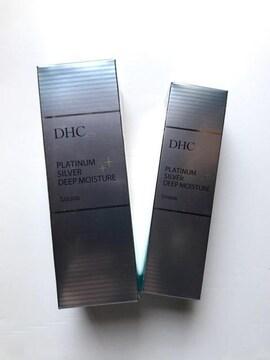 DHC プラチナシルバー ディープモイスチュア 化粧水 & クリーム