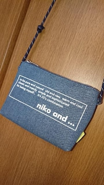 niko and... ショルダーバッグ*ポシェット/ミニバッグ*デニム