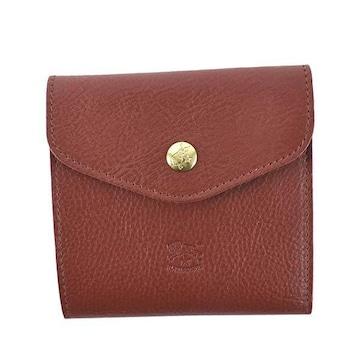 ★イルビゾンテ 2つ折財布(RED)『C0424』★新品本物★