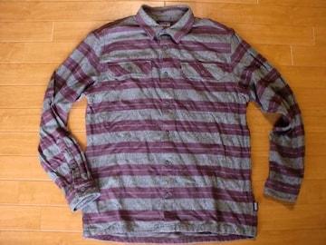 PATAGONIA パタゴニア ネルシャツ USAーMサイズ