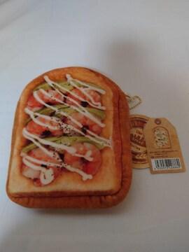新品 食パン ポーチ 小物入れ