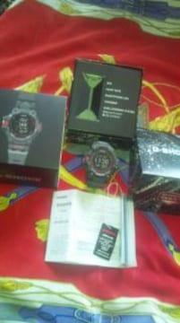 カシオ2020/5GショックGPS電波ソーラー腕時計5センサー搭載55000円