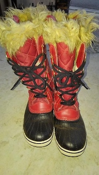 防寒防水ブーツ ソレルブーツ レディース 24.5cm 美品