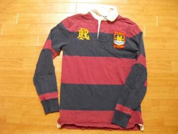 ラルフローレン ラグビー ラガーシャツ USA−M