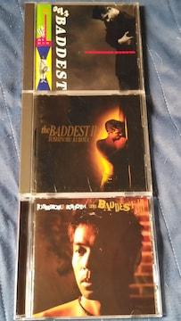 久保田利伸 THE BADDEST ベスト盤3枚セット