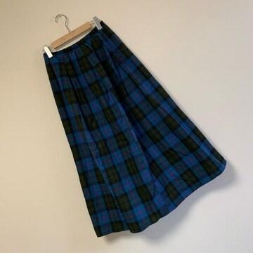☆チェック柄ロングスカート☆