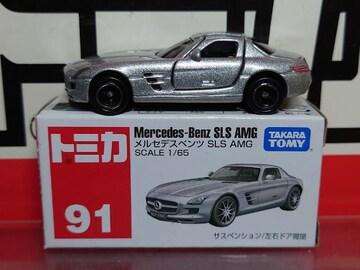 ★赤箱トミカ91★メルセデスベンツ SLS AMG★