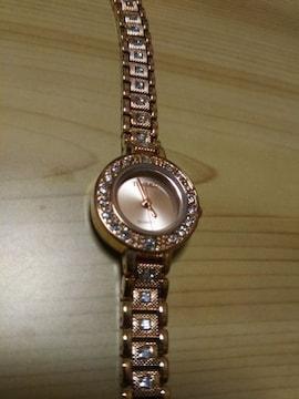 新品 TIME100 Quartz Watch ダイヤモンド入  腕時計  延長ベルト有